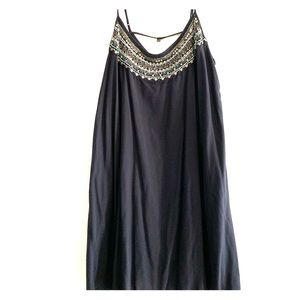 Tunic with beads